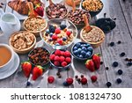 composition with different... | Shutterstock . vector #1081324730