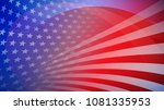 independence day abstract... | Shutterstock .eps vector #1081335953