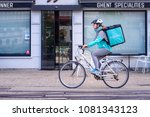 ghent  belgium. may 1  2018.... | Shutterstock . vector #1081343123