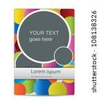 modern business brochure design | Shutterstock .eps vector #108138326