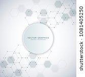 medical background design.... | Shutterstock .eps vector #1081405250