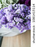 beautiful colorful bouquet of... | Shutterstock . vector #1081415114