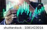 modern way of exchange. bitcoin ... | Shutterstock . vector #1081423016