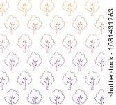 trees background design | Shutterstock .eps vector #1081431263
