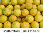 fruit wallpaper  pile of fruit   Shutterstock . vector #1081445870