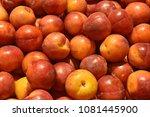 fruit wallpaper  pile of fruit   Shutterstock . vector #1081445900