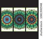 beautiful hand drawn indian... | Shutterstock . vector #1081500548
