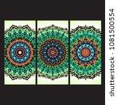 beautiful hand drawn indian... | Shutterstock . vector #1081500554