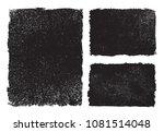 grunge frames banners.grunge... | Shutterstock .eps vector #1081514048