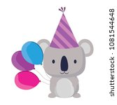 happy birthday design | Shutterstock .eps vector #1081544648