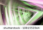 abstract bright multicolor... | Shutterstock . vector #1081553564