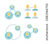 people connection and... | Shutterstock .eps vector #1081566743