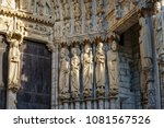 chartres  france   may 21  2017 ... | Shutterstock . vector #1081567526