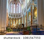 chartres  france   may 22  2017 ... | Shutterstock . vector #1081567553
