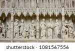 chartres  france   may 22  2017 ... | Shutterstock . vector #1081567556
