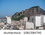 view of cantagalo hill  with... | Shutterstock . vector #1081584740