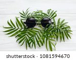 summer vacation concept  flat... | Shutterstock . vector #1081594670