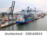 Three Big Cargo Ships In...