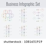 set with infographics. data and ...   Shutterstock .eps vector #1081651919