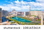 overview of the strip  las... | Shutterstock . vector #1081653614