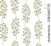 seamless pattern. cute pattern... | Shutterstock . vector #1081685723