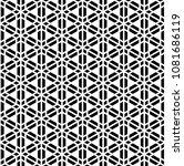 seamless geometric pattern... | Shutterstock .eps vector #1081686119