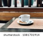 fresh filter   filtered coffee... | Shutterstock . vector #1081701914