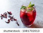 Cold Brew Hibiscus Tea With Ice ...