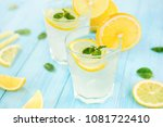 refreshing drinks for summer ... | Shutterstock . vector #1081722410