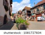 kintzheim  france   august 9 ... | Shutterstock . vector #1081727834