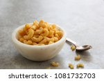 homemade mac n cheese in a bowl ... | Shutterstock . vector #1081732703