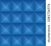 seamless blue ethno pattern...   Shutterstock .eps vector #1081736576