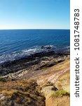 edge of the ocean   Shutterstock . vector #1081748783