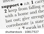 support word dictionary... | Shutterstock . vector #10817527