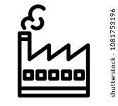 industry icon vector pictogram...