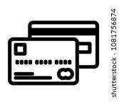 credit card icon vector...