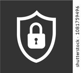 abstract security vector icon... | Shutterstock .eps vector #1081759496