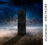 Strange Monolith On Lifeless...