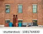close up view of a building in... | Shutterstock . vector #1081764830