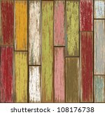 old wooden texture background.... | Shutterstock .eps vector #108176738