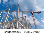 construction of building a... | Shutterstock . vector #108176900
