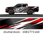 truck graphic vector. abstract... | Shutterstock .eps vector #1081771160