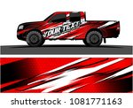 truck graphic vector. abstract... | Shutterstock .eps vector #1081771163