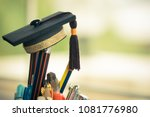 graduate study or education... | Shutterstock . vector #1081776980