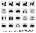 set of vector illustration of... | Shutterstock .eps vector #1081796006