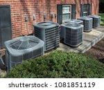 high efficiency modern ac...   Shutterstock . vector #1081851119