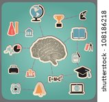 concept of education and... | Shutterstock .eps vector #108186218