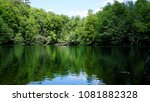 wilderness lake reflections.... | Shutterstock . vector #1081882328