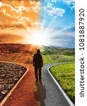 concept responsibility... | Shutterstock . vector #1081887920