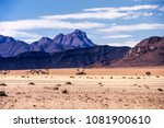 panoramic view of the namib... | Shutterstock . vector #1081900610
